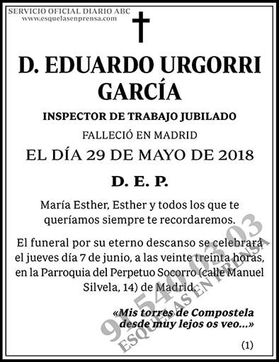 Eduardo Urgorri García